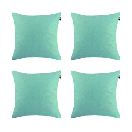 Shell Needlepoint Pillow - DL furniture - 4 Piece Home Décor Couch Sofa Throw Pillow Cushion Case Shell Cover Linen Cotton Blend 24