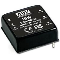 Isolated DC/DC Converters 15W 36-75Vin 15Vout 100-1000mA 1x1 size