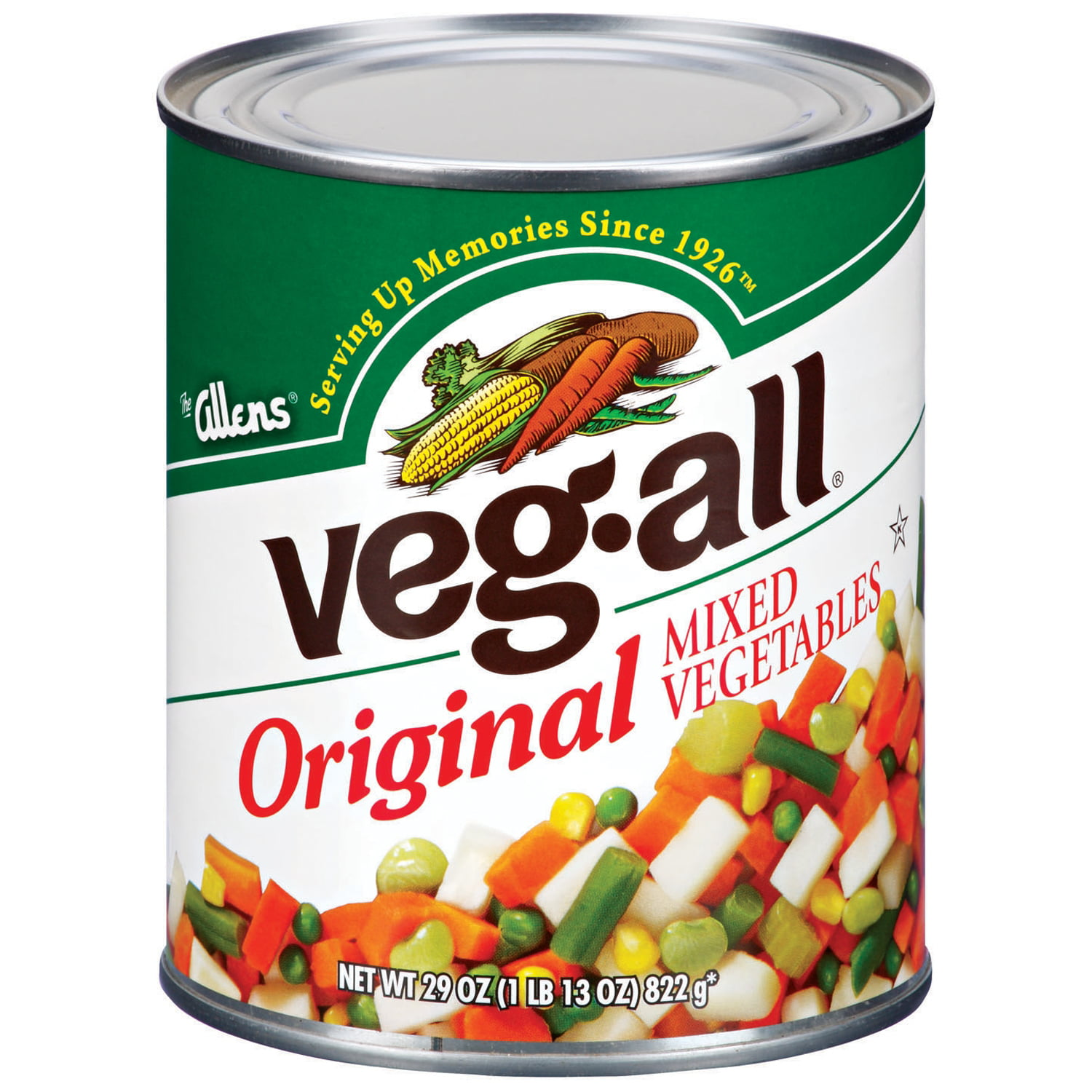 Veg-All Original Mixed Vegetables 29 Oz Can by Sager Creek Vegetable Company