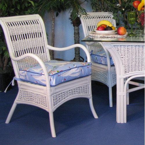 Spice Islands Wicker Regatta Dining Chair (Set of 2)