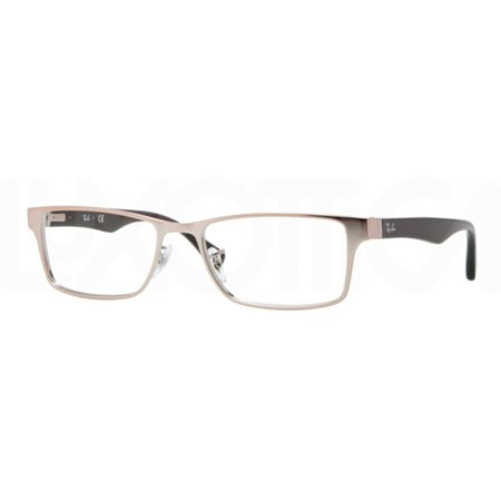 425b861a351 Eyeglasses Ray-Ban Optical RX 6238 2732 BRUSHED LIGHT BROWN - Walmart.com