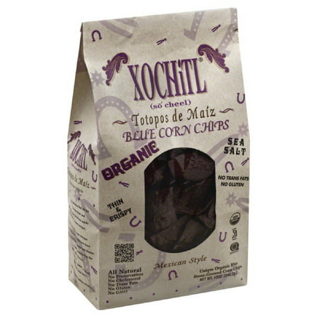 Style Corn (Xochitl Mexican Style Blue Corn Chips, 12 Oz (Pack of 10) )