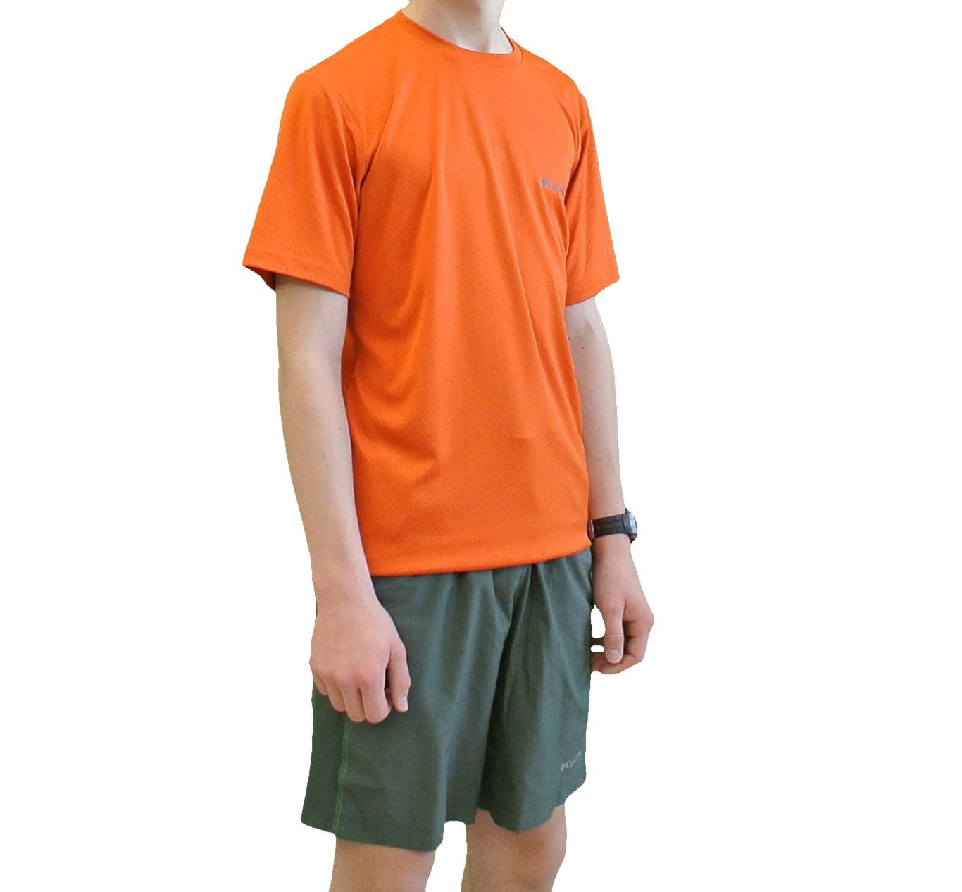 Columbia Mens Zero Rules Short Sleeve Shirt