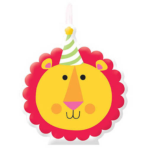 Fisher Price 1st Birthday Candle Set, Multi-Colored