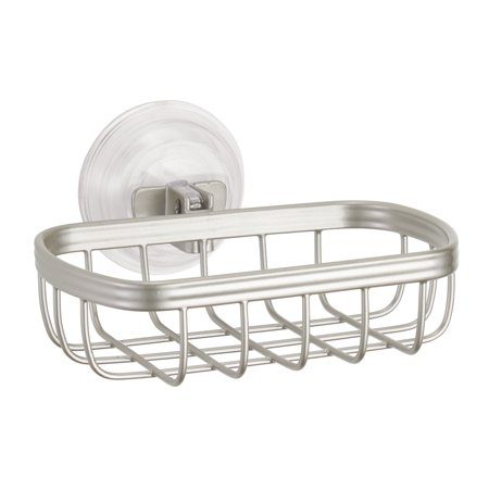 Satin Polished Soap Dish (Better Homes & Gardens Satin Suction Soap)