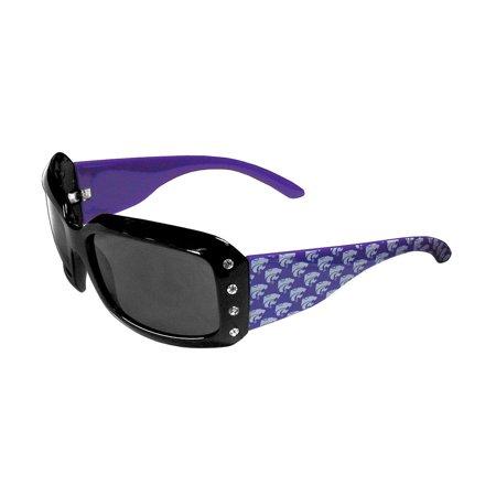 NCAA Kansas State Wildcats Sports Team Logo Women's Designer Bling Sunglasses - image 1 of 1