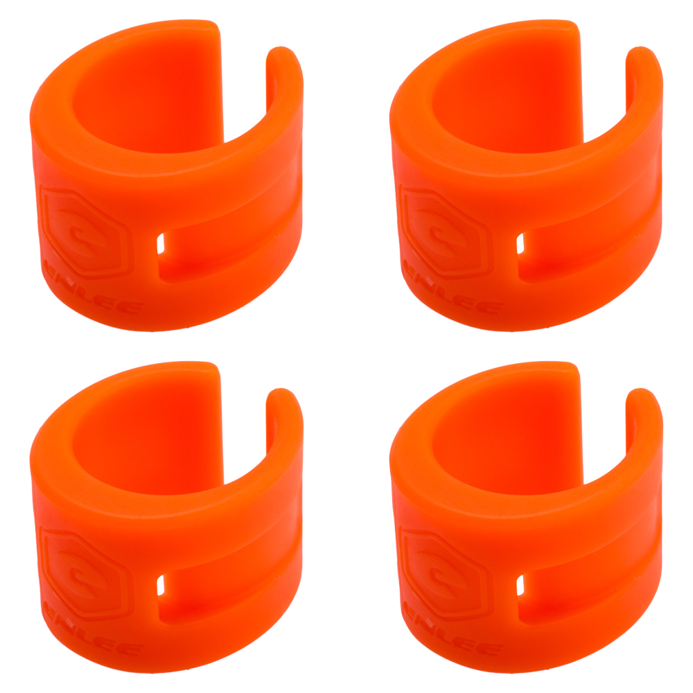 Zelerdo 4 Pack Bike Frame Chain Protective Guard Pad and 1 Pieces Bicycle Chainstay Protector Decal