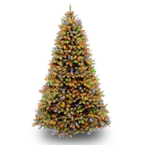 National Tree Co. Douglas Fir Downswept 7.5' Beige Artifi...