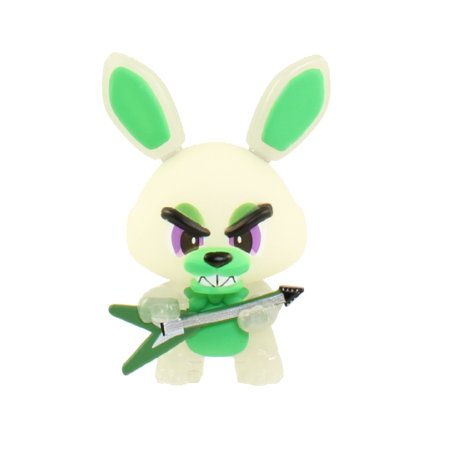 Funko Mystery Mini   Five Nights At Freddys   Bonnie W  Guitar   Glow In The Dark  1 12