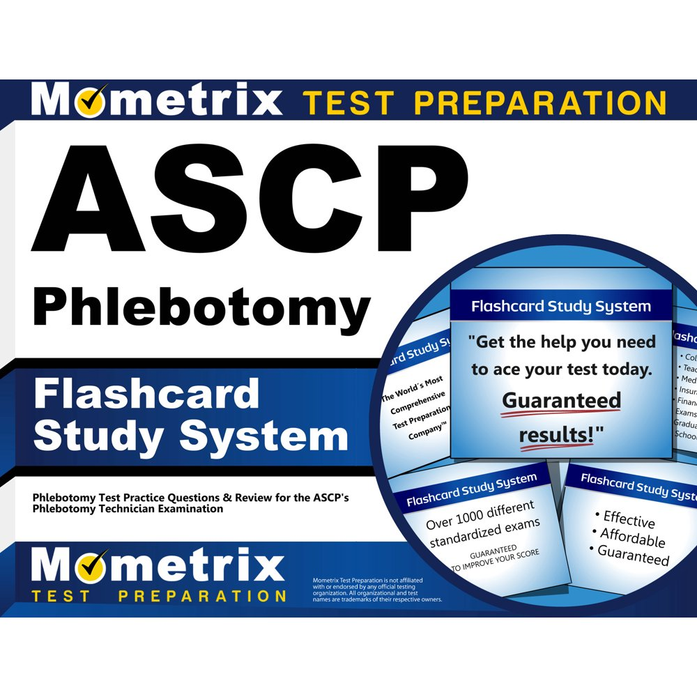 phlebotomy test study practice ascp
