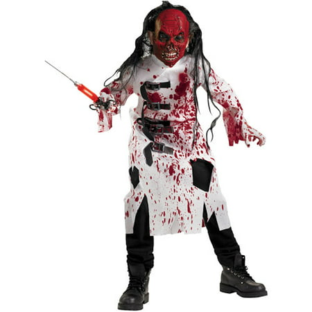 demented doctor child halloween costume - Kids Doctor Halloween Costume