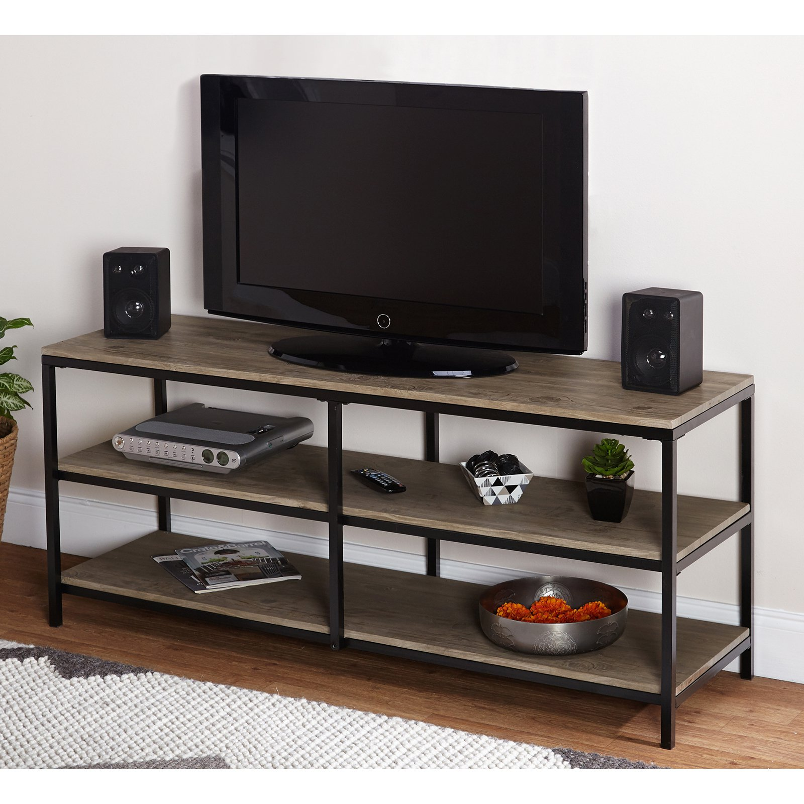 Vie Natural TV Stand for TVs up to 52""