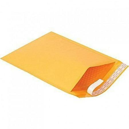 Air-Kraft Self Seal Air Brown Kraft Bubble Mailer Envelope - 50 Envelopes (14 1/4 x