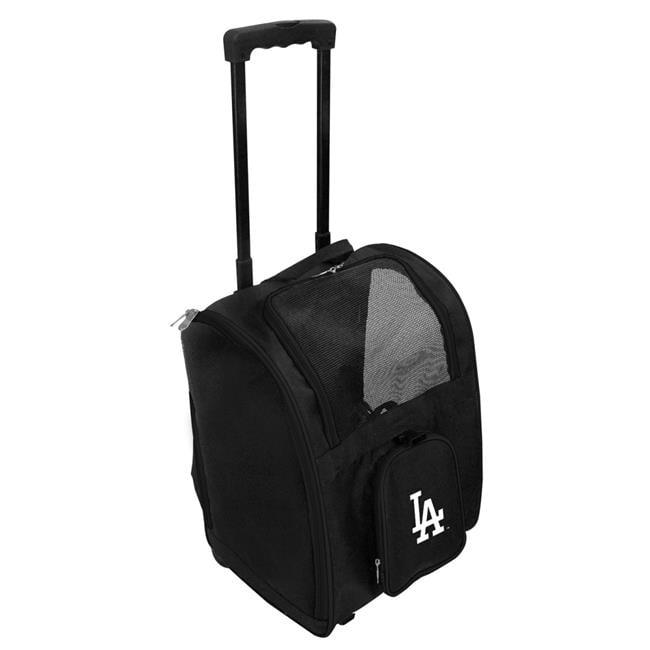 Mojo Licensing MLLAL902 MLB Los Angeles Dodgers Pet Carrier Premium Bag with Wheels - Gray - image 1 de 1