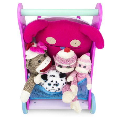Brybelly TCDG-062 Marcheur rose Push-n-Play - image 4 de 5