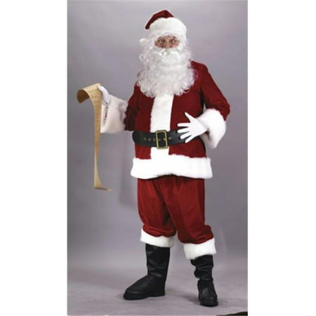 Costumes For All Occasions Fw7545 Santa Suit Ultra Velvet Xxl