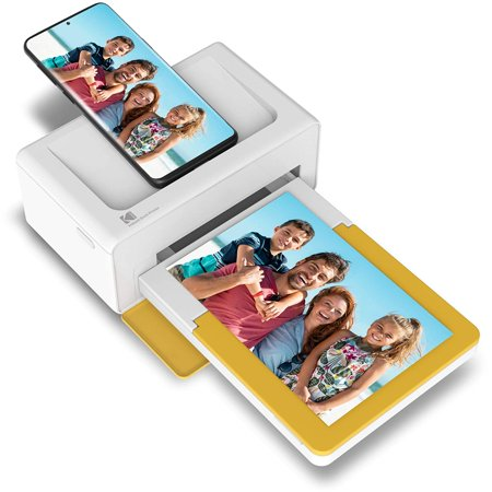 Kodak Dock Plus Instant Photo Printer – Updated Bluetooth Portable Photo Printer Full Color Printing – Mobile App Compatible with iOS and Android – Convenient and Practical
