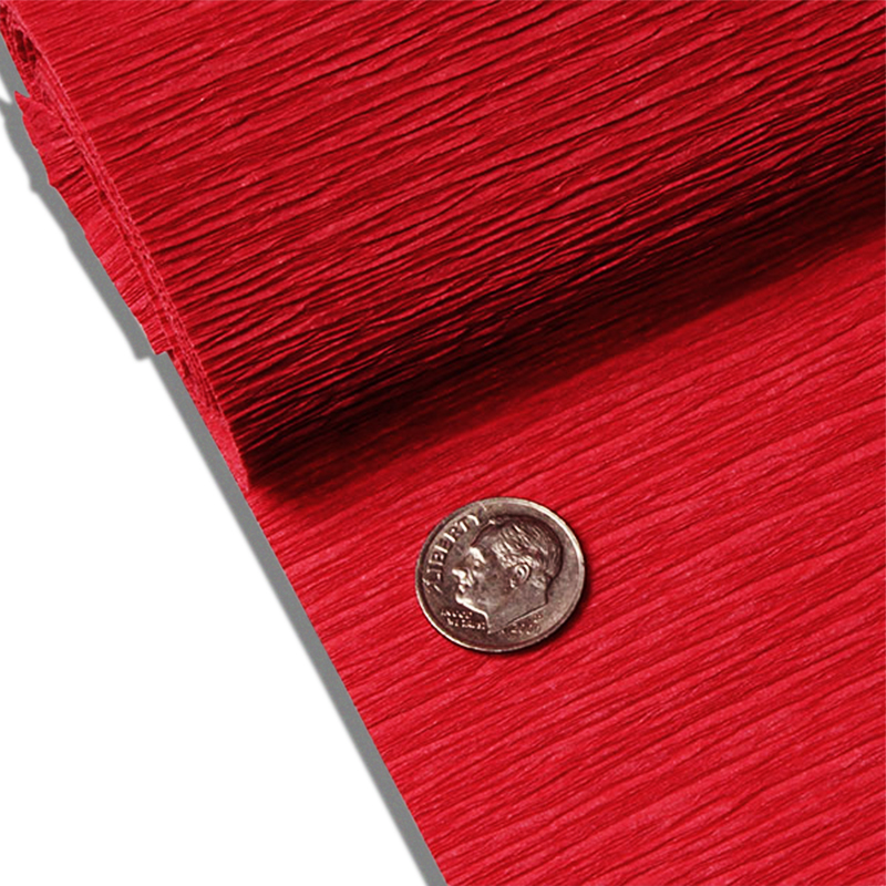 "Red Crepe Paper 19"" X 3yd by Paper Mart"