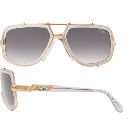 ac1a2a39da8 CAZAL - Cazal 656-3 Sunglasses 65 61 Crystal-Gold 61 - Walmart.com