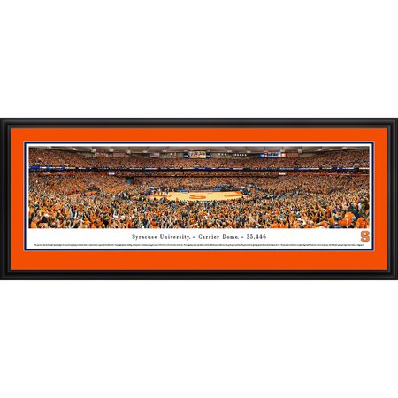 Syracuse University Basketball   Blakeway Panoramas Ncaa College Print With Deluxe Frame And Double Mat