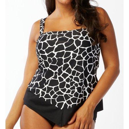 1ab96f47c9d Coco Reef - Coco Reef UX0765 Aruba Plus Size Scarf Bandini Swim Top -  Walmart.com