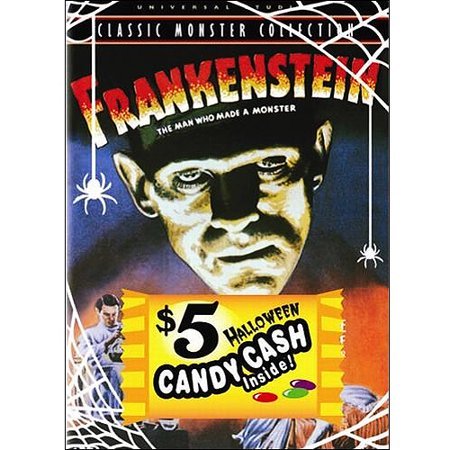 Frankenstein  1931 W  Halloween Candy Cash
