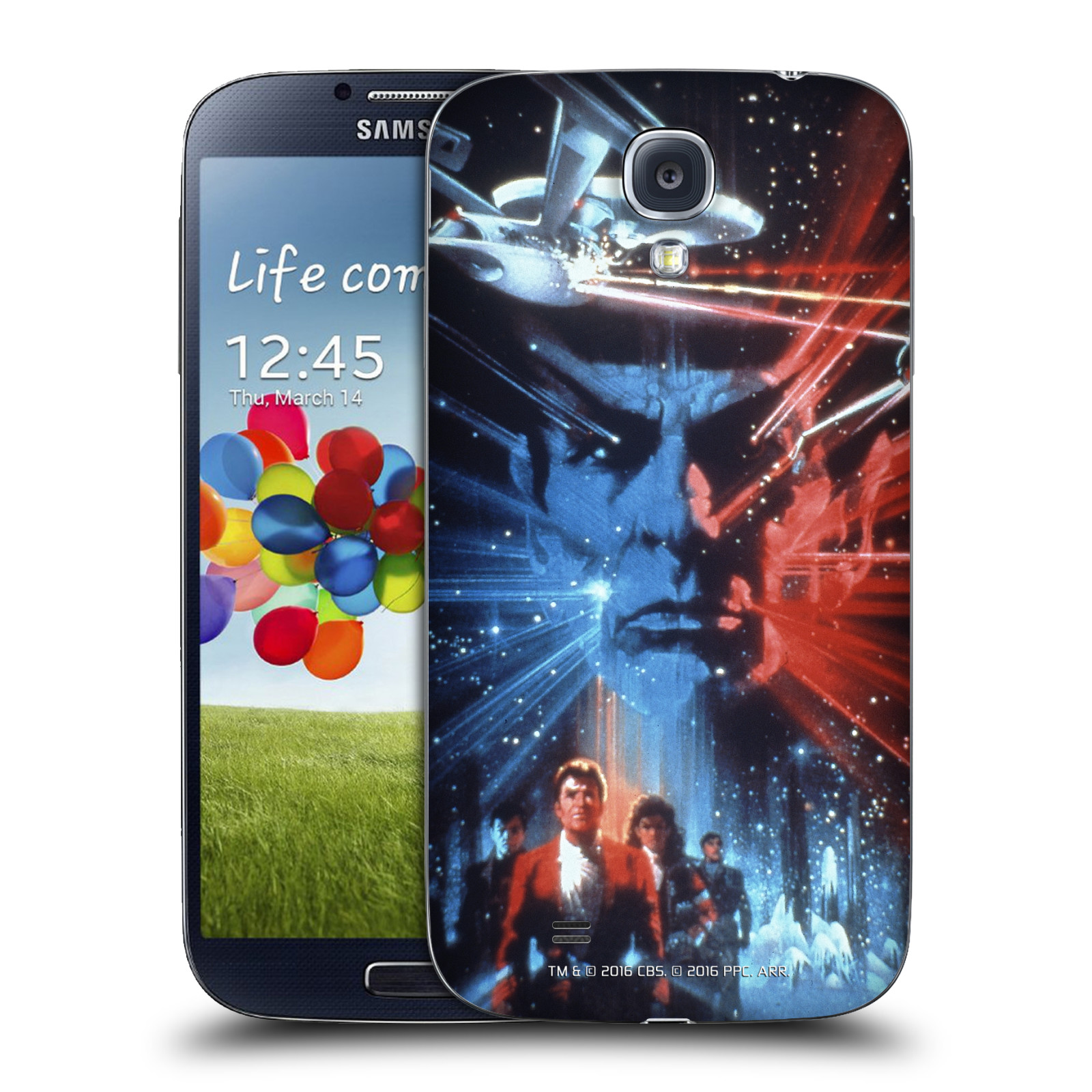 OFFICIAL STAR TREK MOVIE POSTERS TOS REPLACEMENT BATTERY COVER FOR SAMSUNG PHONE 1