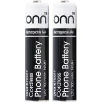 onn. Cordless Phone Battery, 2.4V Aaa Nimh Rechargeable