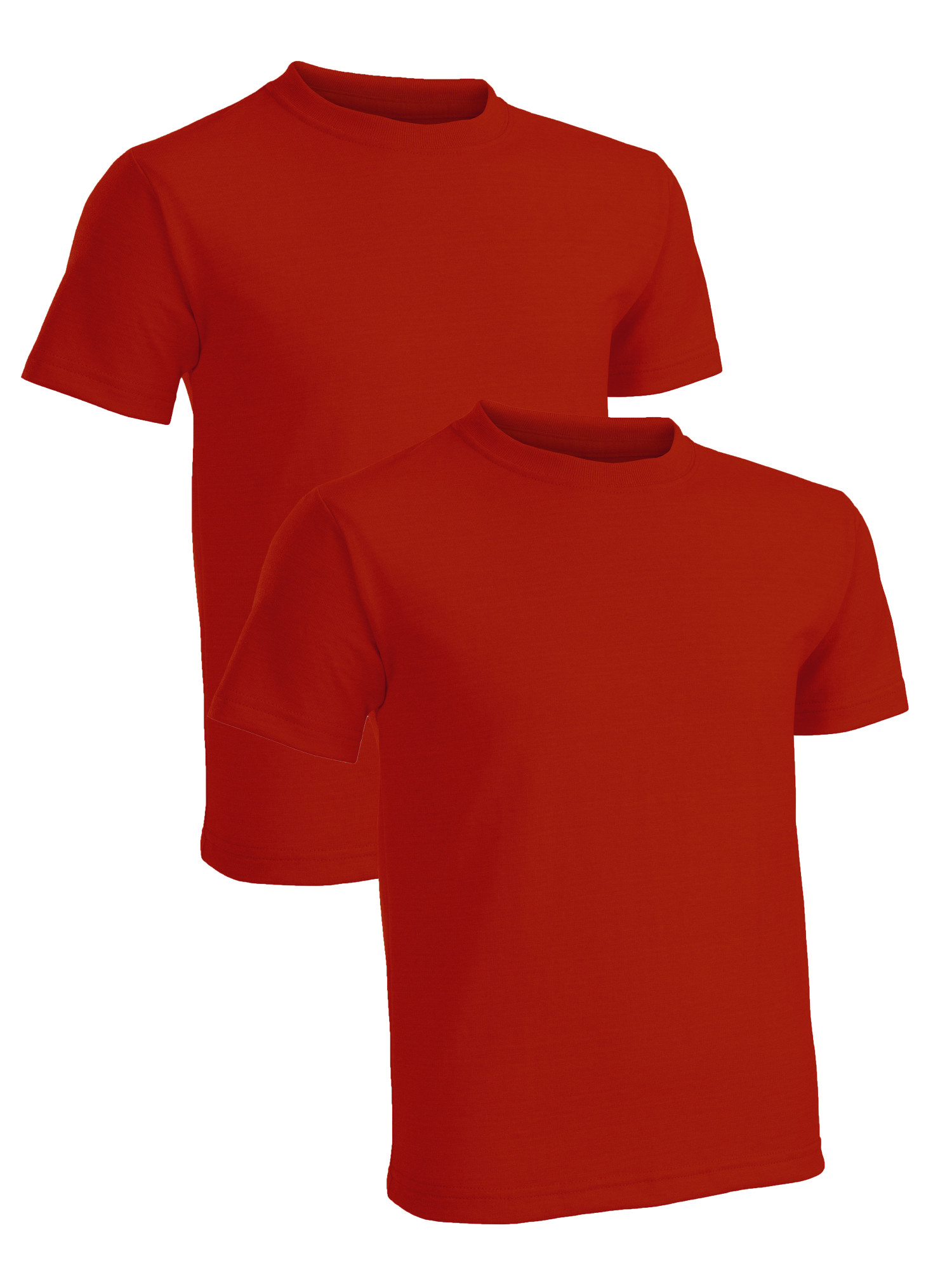 Fruit of the Loom Boys' Short Sleeve Crew Neck T-Shirts, 2 Pack