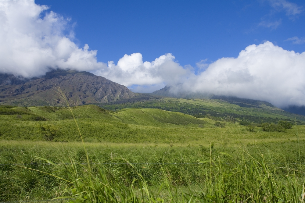 b2130ddf3cd72 Hawaii Maui Haleakala Kaupo Gap Green And Calm On A Warm Day Canvas Art -  Ron Dahlquist Design Pics (34 x 22) - Walmart.com
