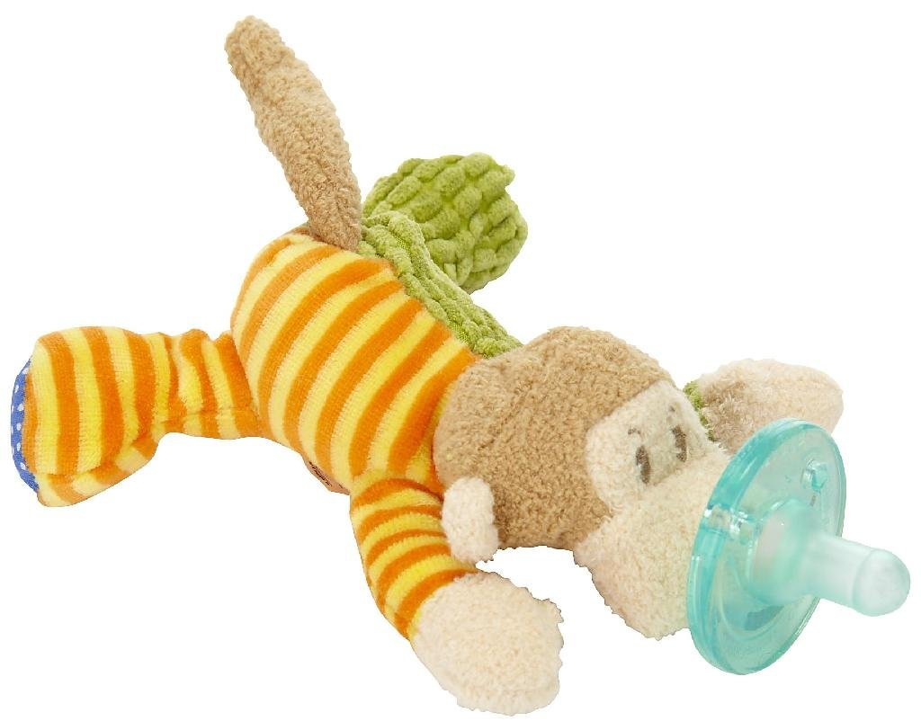 WubbaNub Mango Monkey Plush Infant Pacifier Mary Meyer Limited Edition by Wubbanub
