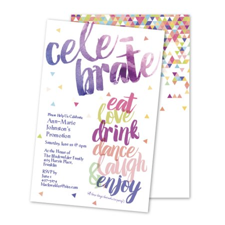 Personalized Celebrate Party