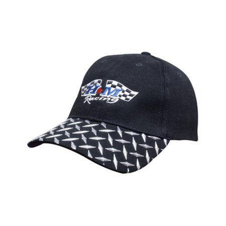 Headwear USA 4044 Brushed heavy cotton twill with checker plate on visor - image 1 of 1