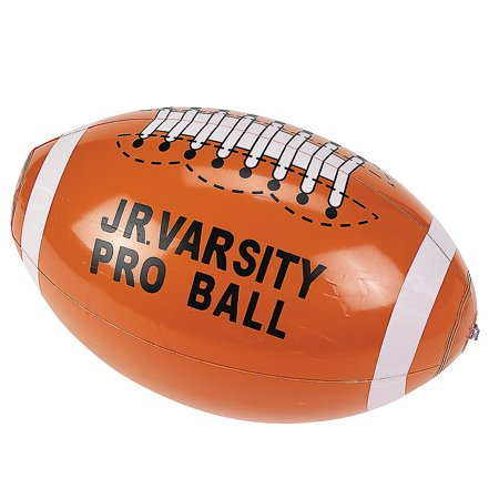 Blow Up Ball To Roll In (Inflatable Football Accessory Fun Novelty Costume Blow Up NFL Play)