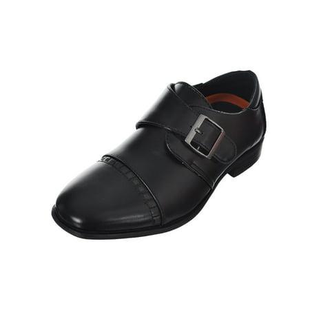 boys' buckle strap dress shoes (sizes 5 - - Dress Shoes Boys