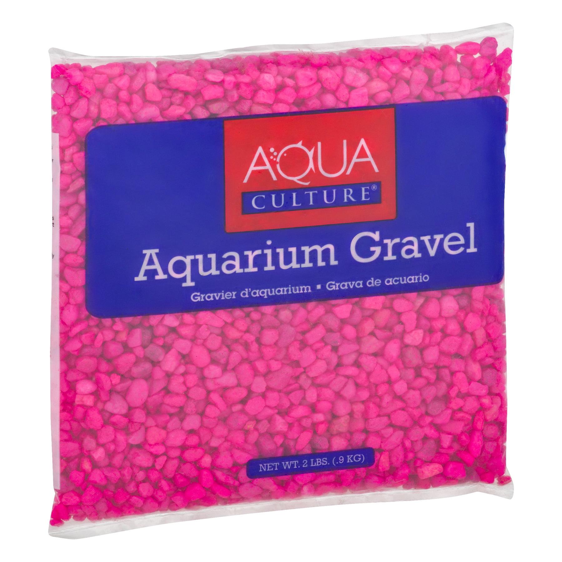 2 Pack) Aqua Culture Aquarium Gravel Pink, 2.0 LB - Walmart.com