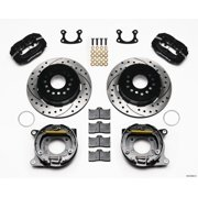 Wilwood Forged Dynalite P/S Park Brake Kit Drilled Small Ford 2.50in Offset