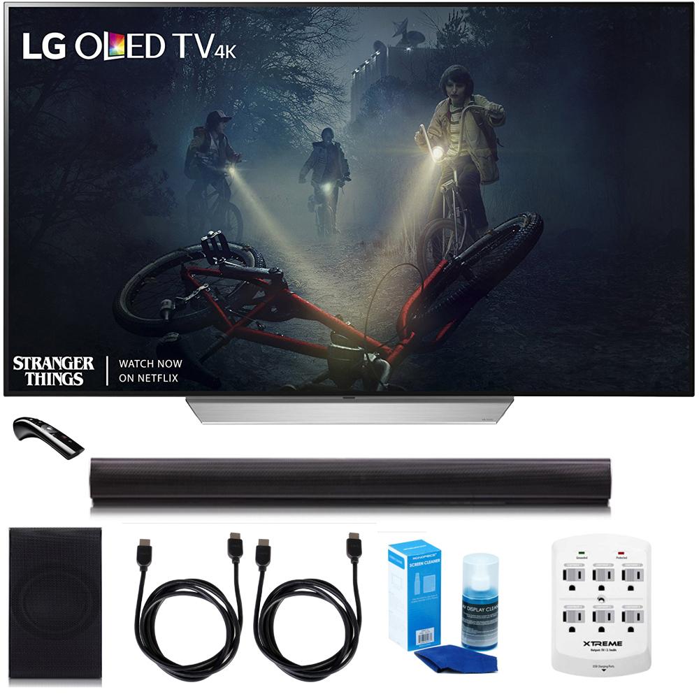 "LG OLED55C7P - 55"" C7 OLED 4K HDR Smart TV w/LGSH7B 4.1ch..."
