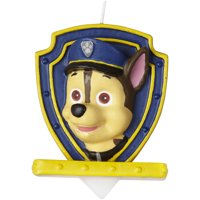 Paw Patrol Birthday Candle - Party Supplies - 1 Piece