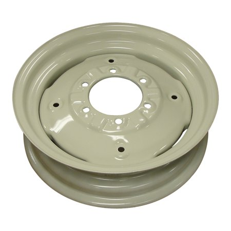 "4.5"" x 16"" Front Rim for Massey Ferguson 165 265 275 135 245 175 150 TO35 50 20 International 454 674 574 David Brown Ford 600 8N 800 700 2000 900 NAA 3000 4000 John Deere 2020 830 1020 Massey Harris"