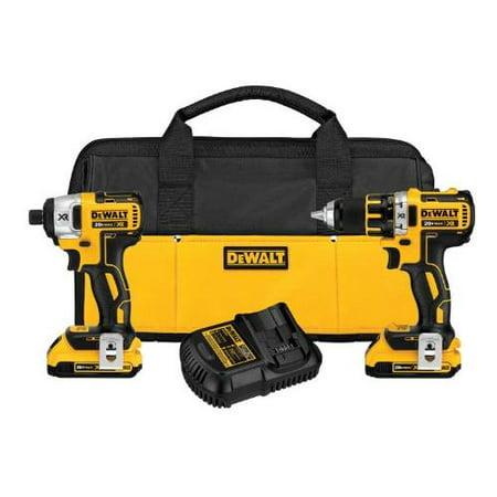 Buy Dewalt Dck281d2 20-volt Drill impact Combo Kit