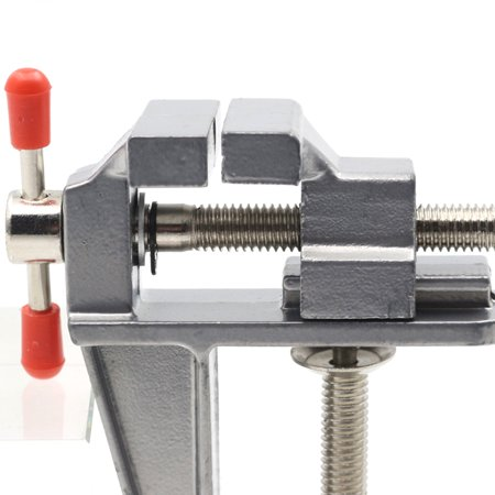 Aluminum Miniature Small Hobby Clamp On Table Multi-functional Mini Tool - image 2 de 7
