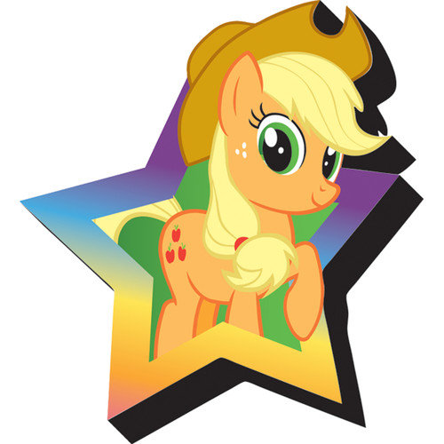 My Little Pony- Applejack Funky Chunky Magnet