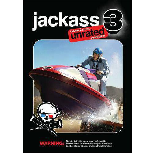Jackass 3 (Unrated/Rated) (With Classic 3D) (Widescreen)