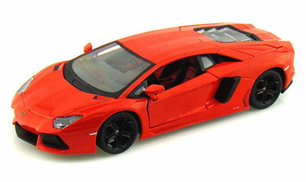 Lamborghini Aventador LP700-4, Orange Maisto 31210 1 24 scale diecast model car by Maisto