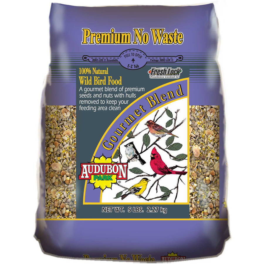 Audubon Park 10299 5 lb Premium No Waste Wild Bird Food by Global Harvest/woodinville