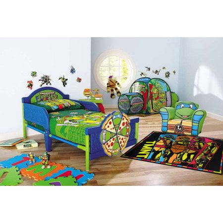 Nickelodeon Teenage Mutant Ninja Turtles Toddler Bedroom Accessories Co