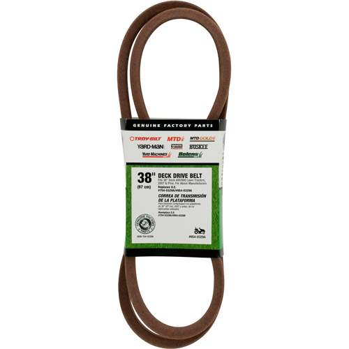 Mtd Brands Deck Pulley To Lower Engine Pulley Belt 754