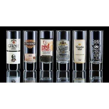 Arc International Luminarc Top Shelf Assorted Shot Glasses, 2.25-Ounce, Set of 6 by