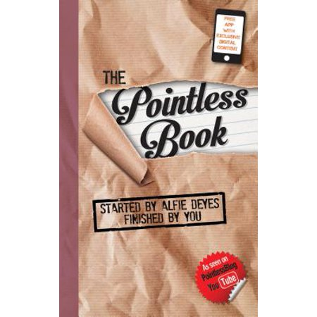 The Pointless Book : Started by Alfie Deyes, Finished by You (Point Less Box)